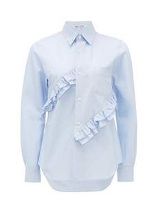 Comme des Garçons Comme des Garçons Ruffled cotton shirt