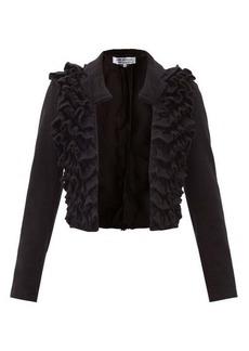 Comme des Garçons Comme des Garçons Ruffled wool jacket