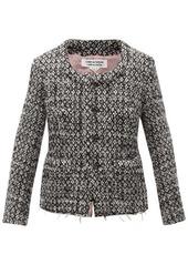 Comme des Garçons Comme des Garçons Single-breasted tweed jacket