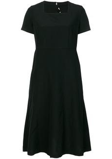 Comme Des Garçons Comme Des Garçons square neck dress - Black