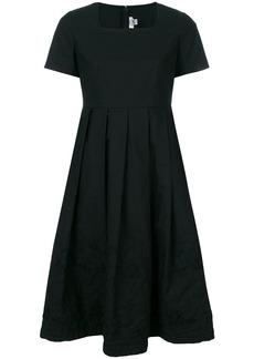 Comme Des Garçons Comme Des Garçons square neck pleated skirt dress -