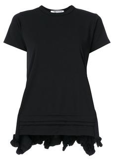 Comme Des Garçons Comme Des Garçons structured panel t-shirt - Black