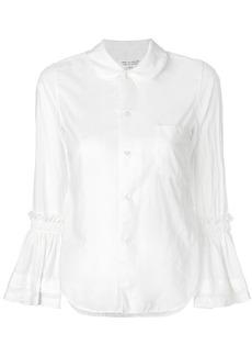 Comme Des Garçons Comme Des Garçons wide sleeved shirt - White