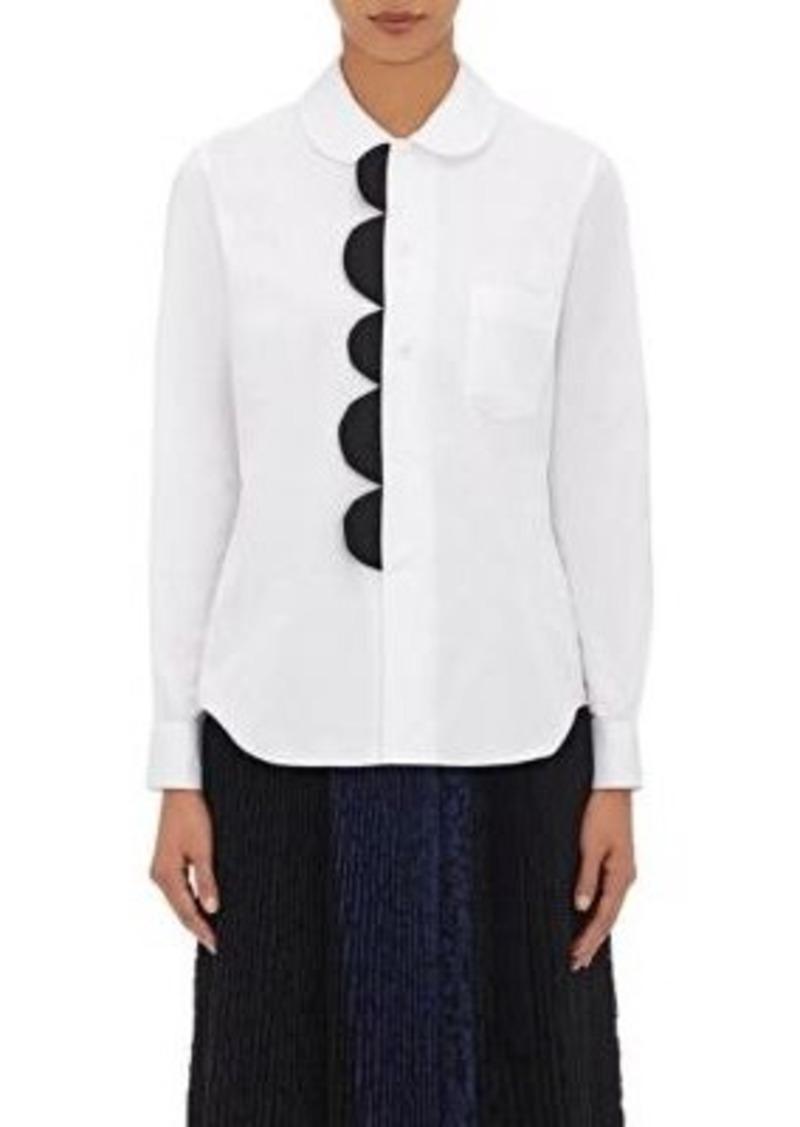 Comme des Garçons Comme des Garçons Women's Cotton Embellished Blouse