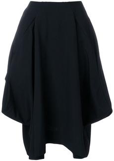 Comme Des Garçons draped full skirt - Black