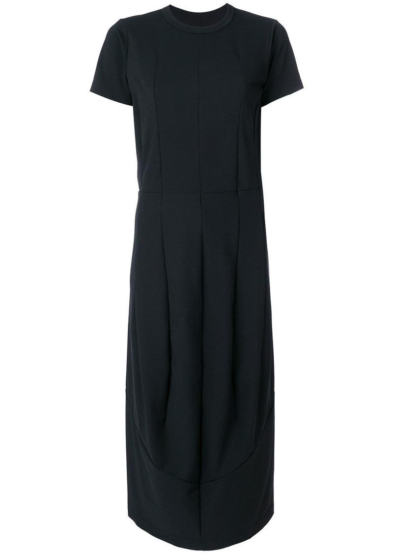 Comme Des Garçons draped tulip dress - Black