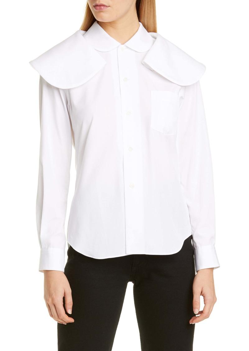 Comme des Garçons Exaggerated Double Collar Shirt