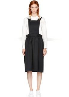 Comme des Garçons Girl Black Pinafore Dress