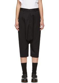 Comme des Garçons Girl Black Wool Sarouel Trousers