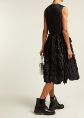 Comme des Garçons Girl Bow-trim ruffled satin dress