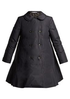 Comme Des Garçons Girl Flared-hem down-padded coat