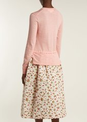 Comme des Garçons Girl Knitted and quilted panel dress