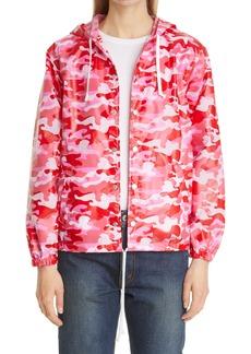 Comme des Garçons Girl Pink Camouflage Windbreaker