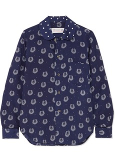 Comme des Garçons Printed Poplin Shirt