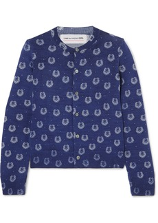 Comme des Garçons Printed Wool Cardigan