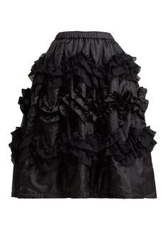 Comme Des Garçons Girl Ruffled shell skirt
