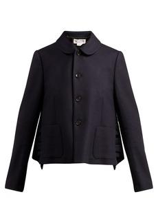 Comme Des Garçons Girl Ruffled wool jacket