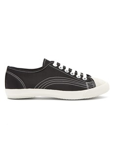 Comme Des Garçons Girl Stitched low-top satin sneakers