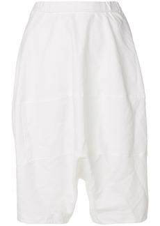Comme Des Garçons Girl tapered shorts - White