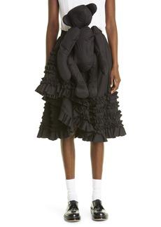 Comme des Garçons Girl Teddy Bear Ruffle Skirt