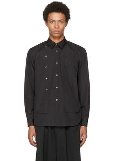 Comme des Garçons Homme Plus Black Double Shirt
