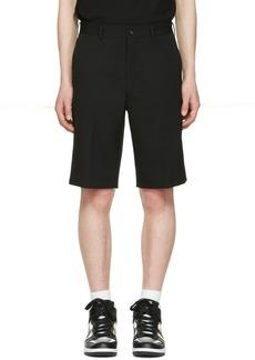 Comme des Garçons Homme Plus Black Gabardine Shorts