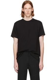 Comme des Garçons Homme Plus Black Open Back Strap T-Shirt