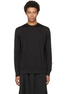 Comme des Garçons Homme Plus Black Open Back T-Shirt