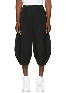 Comme des Garçons Homme Plus Black Oversized Balloon Shorts
