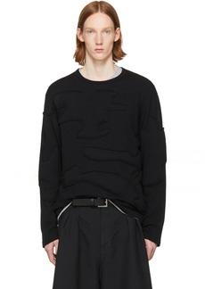 Comme des Garçons Homme Plus Black Padded Sweater