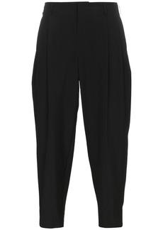Comme Des Garçons Homme Plus Black Wool Cropped Trousers