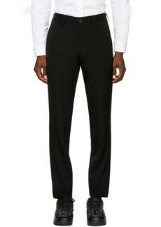 Comme des Garçons Homme Plus Black Wool Trousers