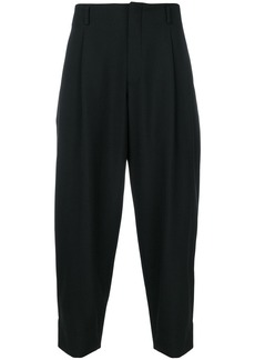 Comme Des Garçons Homme Plus cropped tailored trousers - Black