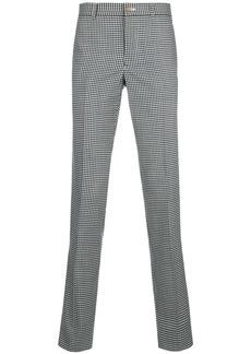 Comme Des Garçons Homme Plus gingham straight-leg trousers - Black