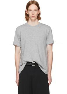 Comme des Garçons Homme Plus Grey Open Back Strap T-Shirt