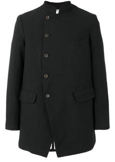 Comme Des Garçons Homme Plus mandarin collar coat - Black