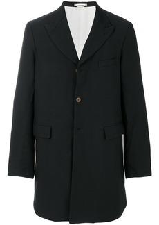 Comme Des Garçons Homme Plus single-breasted coat - Black