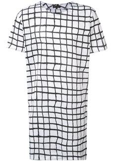Comme Des Garçons Homme Plus square pattern T-shirt - Black
