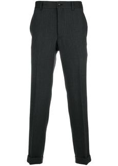 Comme Des Garçons Homme Plus straight leg trousers - Black