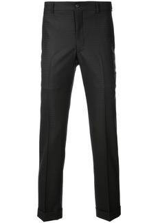 Comme Des Garçons Homme Plus tailored jacquard trousers - Black