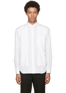Comme des Garçons Homme Plus White Double Shirt
