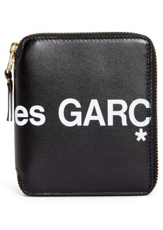 Comme des Garçons Huge Logo Zip Around Wallet
