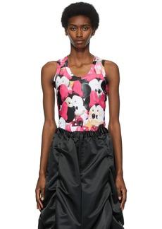 Comme des Garçons Multicolor Disney Edition Print Bodysuit