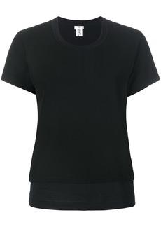 Comme Des Garçons Noir Kei Ninomiya layered T-shirt - Black