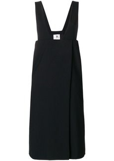 Comme Des Garçons Noir Kei Ninomiya plunge dress - Black