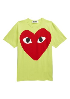 Comme des Garçons PLAY Big Red Heart Graphic Tee