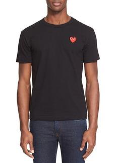 Comme des Garçons PLAY Cotton Jersey Slim Fit Crewneck T-Shirt