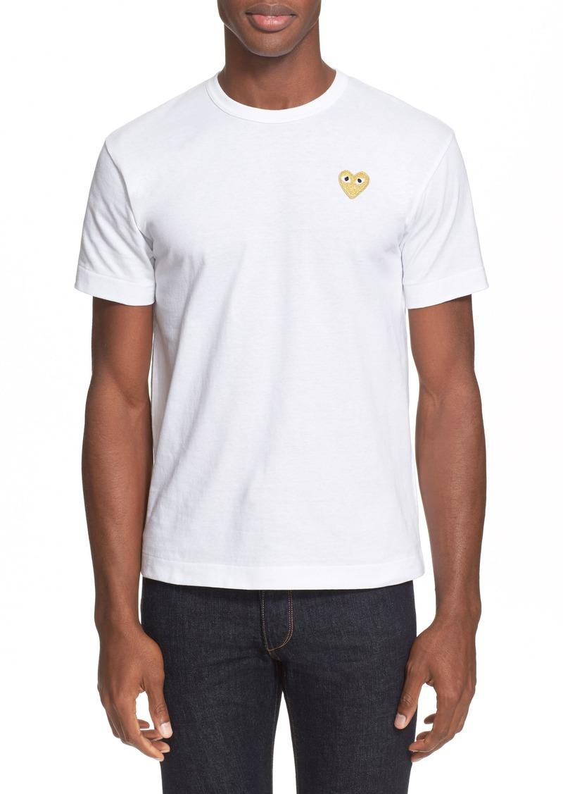 Comme des Garçons PLAY Slim Fit Crewneck T-Shirt