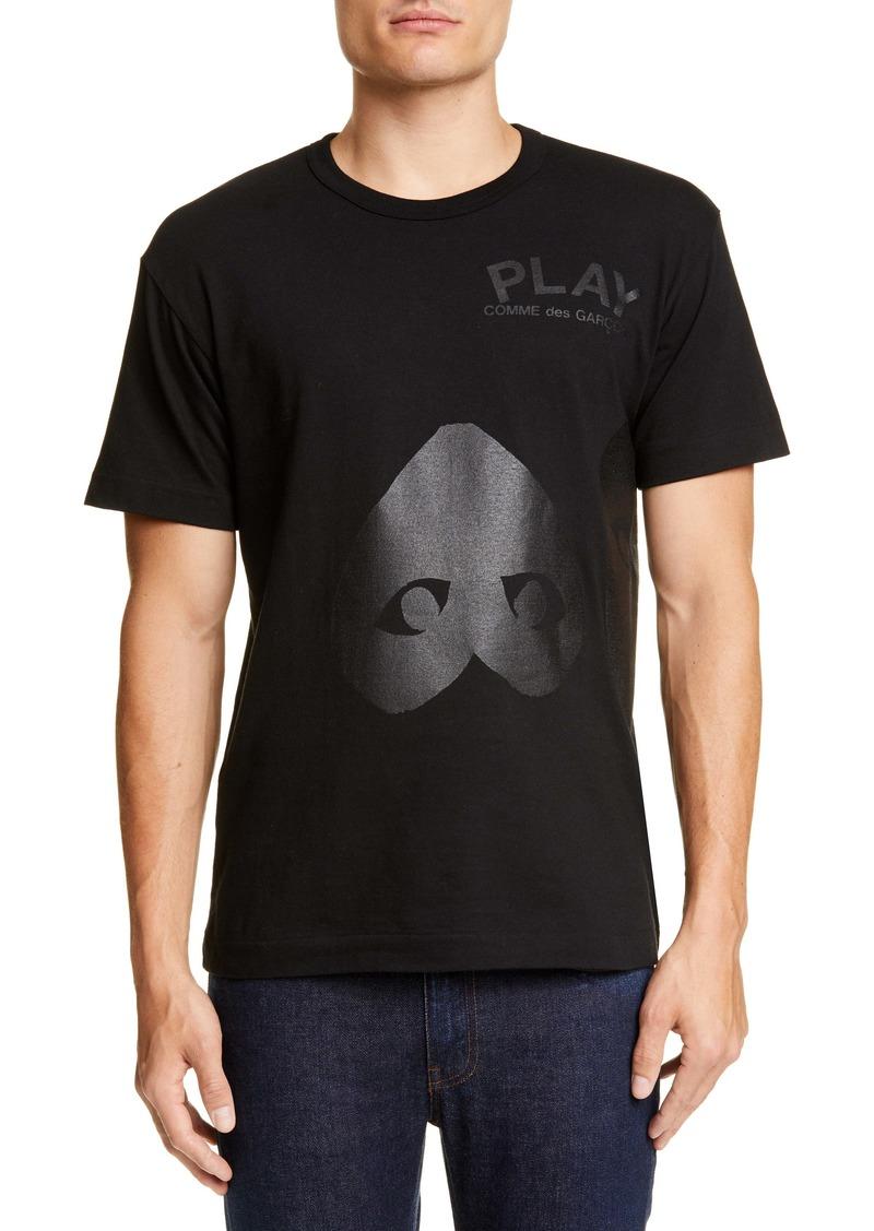 Comme des Garçons PLAY Double Heart T-Shirt