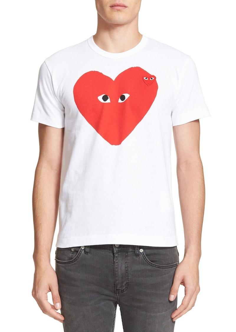 Comme des Garçons PLAY Slim Fit Graphic T-Shirt